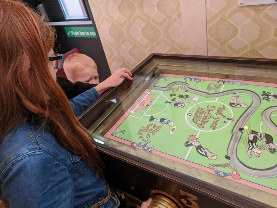 10 Reasons to Visit Woodhorn Museum (A Review) - retro table game