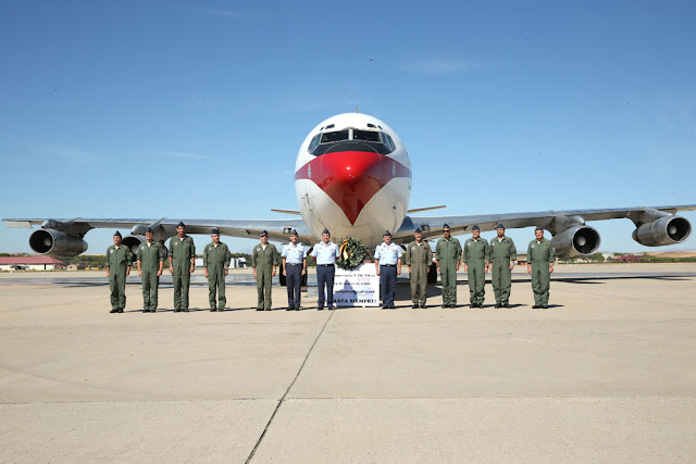 SPANISH AIR FORCE: GOODBYE BOEING 707