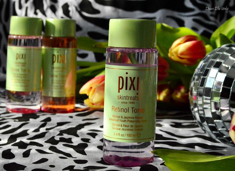 PIXI Retinol Tonic Tonik z retinolem Pixi Beauty recenzja