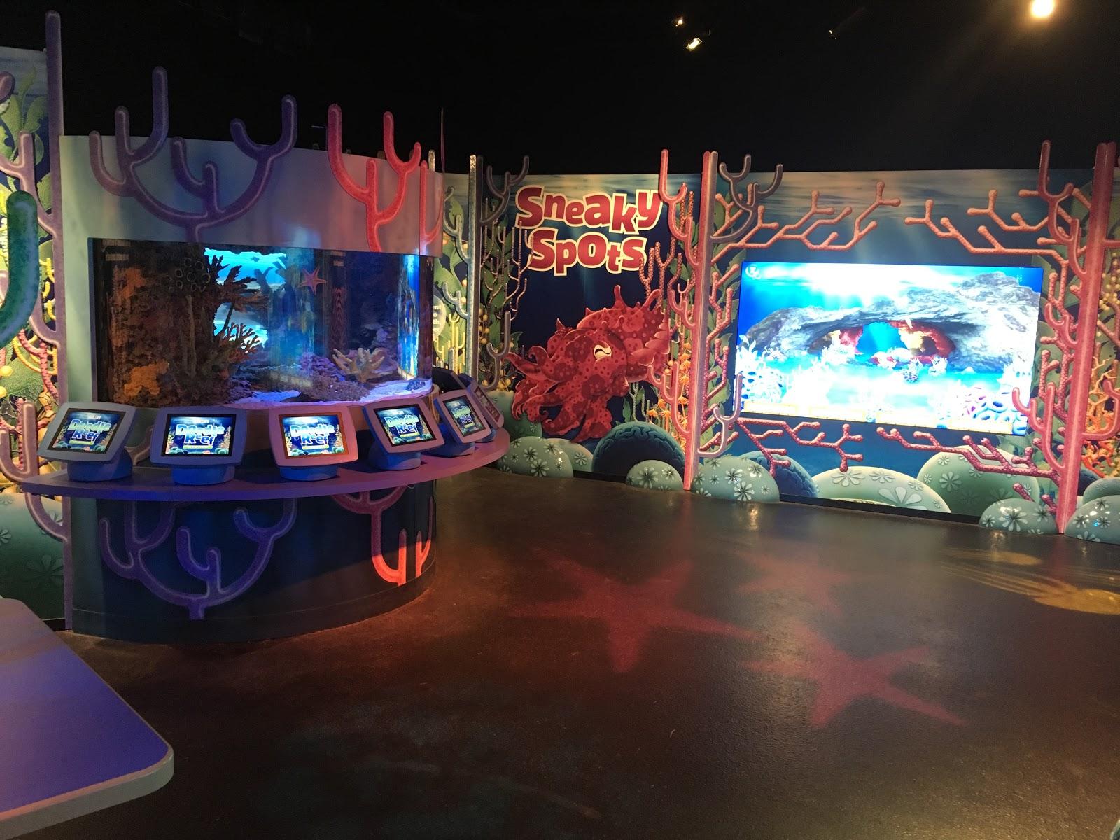 Doodle Reef Exhibit At Sea Life Aquarium Metro Detroit Mommy