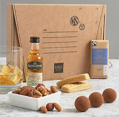 marks and spencer a wee whisky letterbox gift