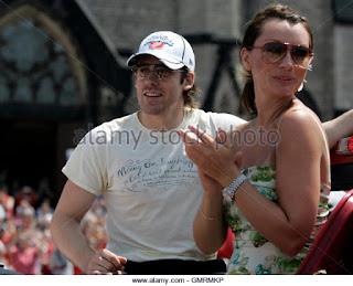 Detroit Red Wings Henrik Zetterberg And His Girlfriend Emma Andersson Gmrmkp