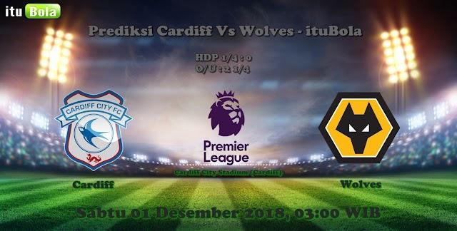 Prediksi Cardiff Vs Wolves - ituBola
