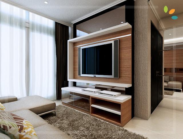 Interior Desain Apartemen CBD Pluit