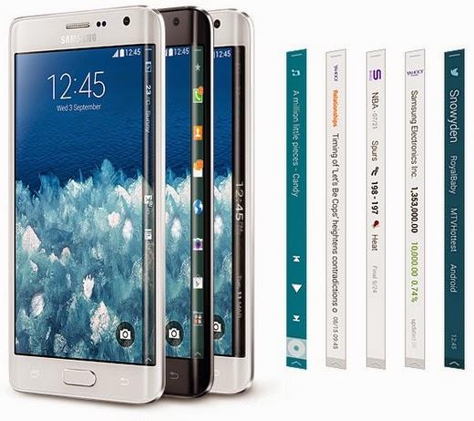 Samsung Galaxy Note Edge Android High End Rp 7 Jutaan