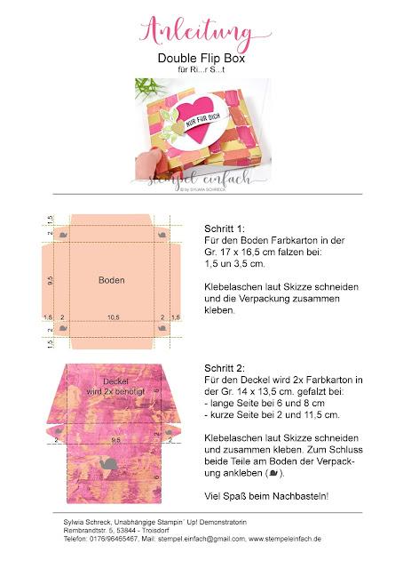 Verschließbare Box-Stampin Up-Anleitung