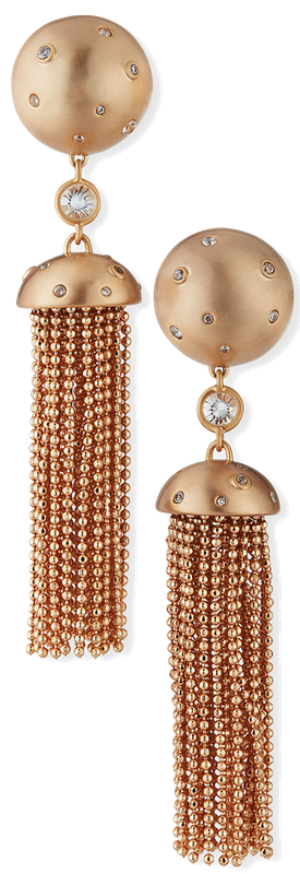 Kendra Scott Sue Tassel Drop Clip-On Earrings