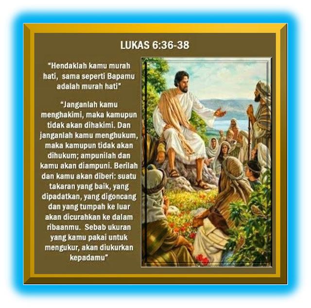Lukas 6:36-38