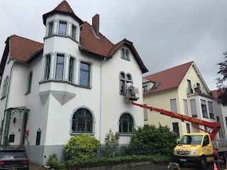 Fassadeninspektion Hublift Stuck Belz Bonn Fassadenkontrolle