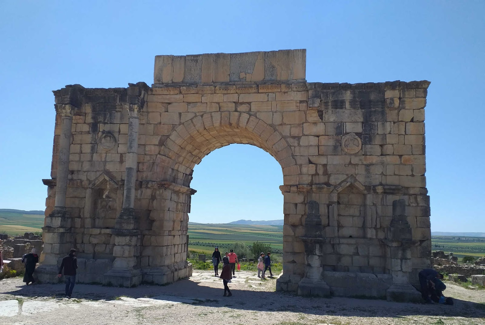 Volubilis,Fes,Marrocos