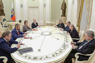 о чем Путин за закрытыми дверями говорил с бывшими соперниками на выборах