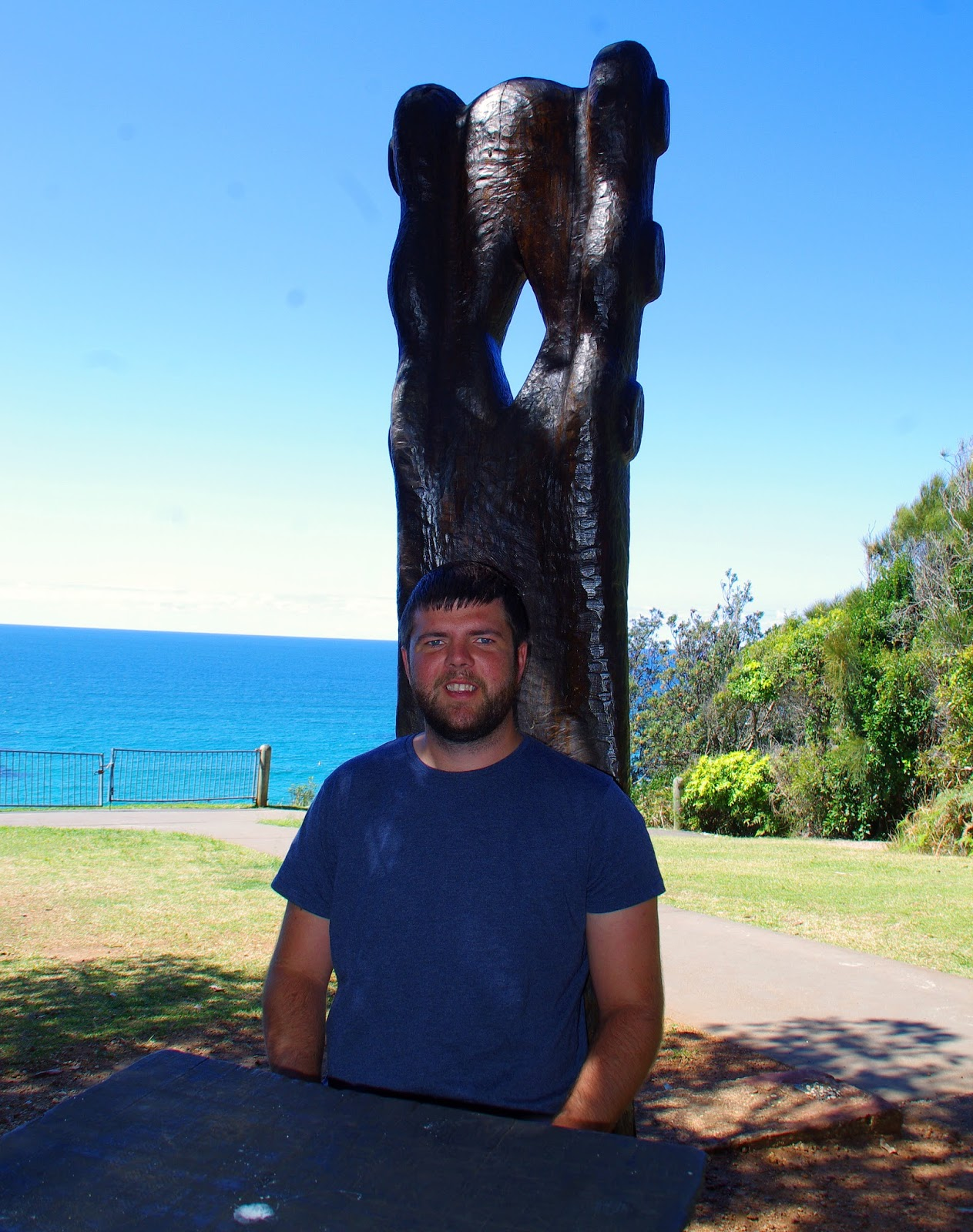 Dan at harrys lookout port macquarie