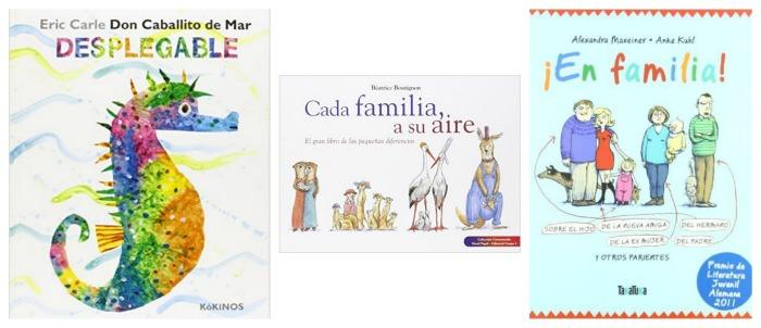 selección cuentos coeducación y igualdad de géneros: diversidad familiar, roles familia