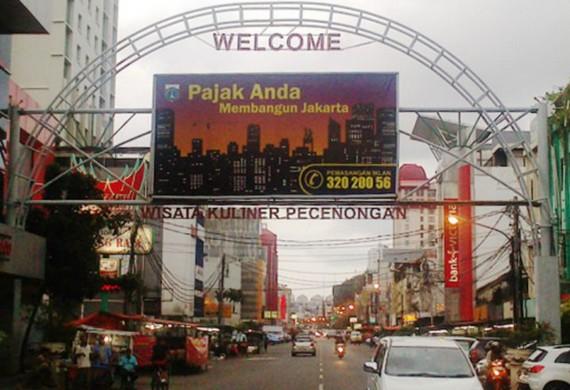 Daya Tarik Objek Wisata Pecenongan Di Gambir Dki Jakarta Pusat