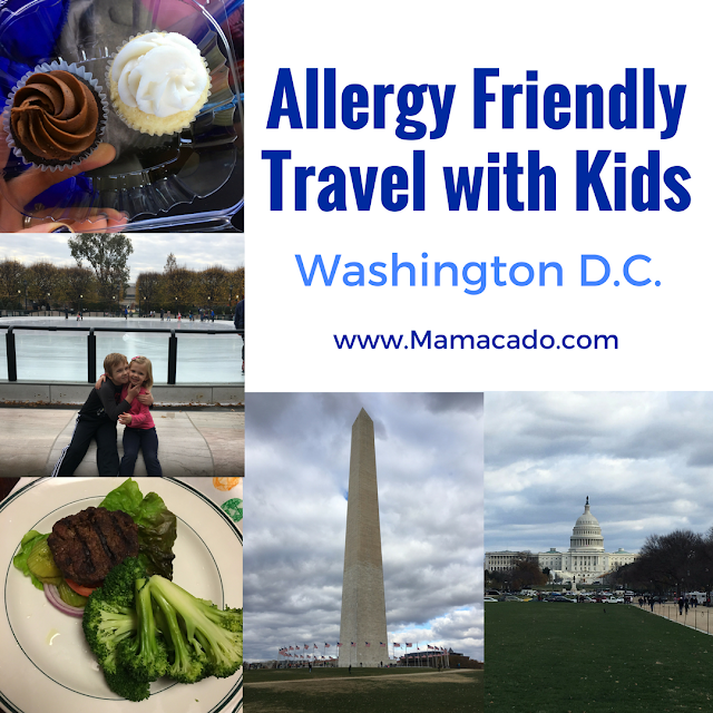Allergy Friendly Travel with Kids in Washington D.C.