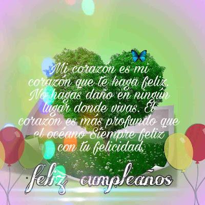 feliz cumpleaños que dios te bendiga, felix cumpleaños, tarjetas con frases, que tengas un bendecido dia