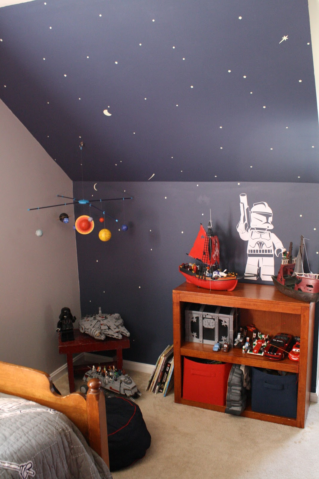 Star Wars Themed Bedroom Ideas Sawyer 39s Room The Reveal Cassie Bustamante