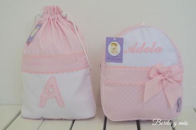 mochila cole personalizada