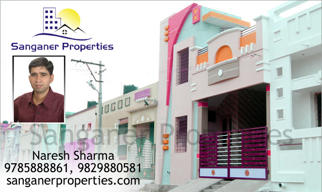 Residential House For Sale near to Mansarovar in Sanganer