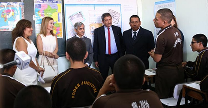 MINEDU refuerza servicio educativo para dos mil internos de centros de rehabilitación juvenil - www.minedu.gob.pe