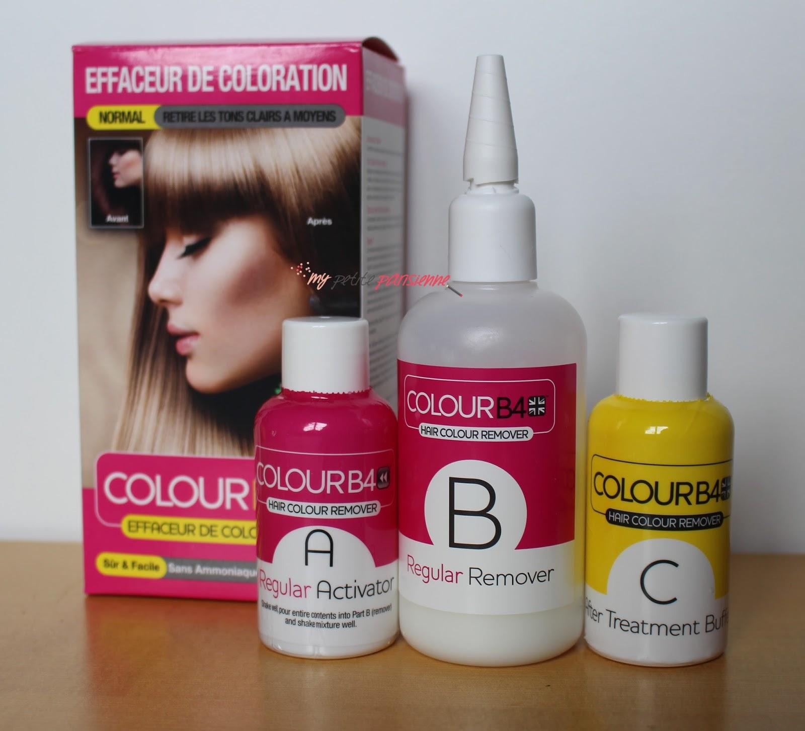 La laque couleur pour cheveux