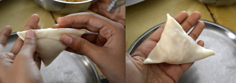 How to prepare onion samosa