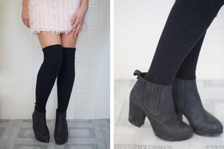 4c035140c Knee high socks  women s fashion trend - Miss Rich