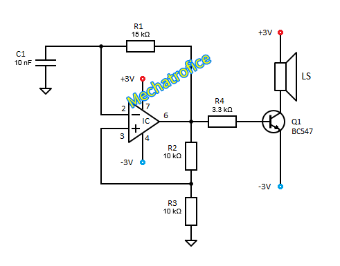 Simple Circuit Of Elektronic Buzzer as well Wiring Diagram Ag Necam Koltec further Op   Fet Input Circuit Schematic Diagram together with Basic Wiring Diagram For Car Stereo as well Boss Subwoofer Wiring Diagram. on wiring diagram for amp and capacitor