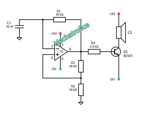 Audio Tone generator circuit