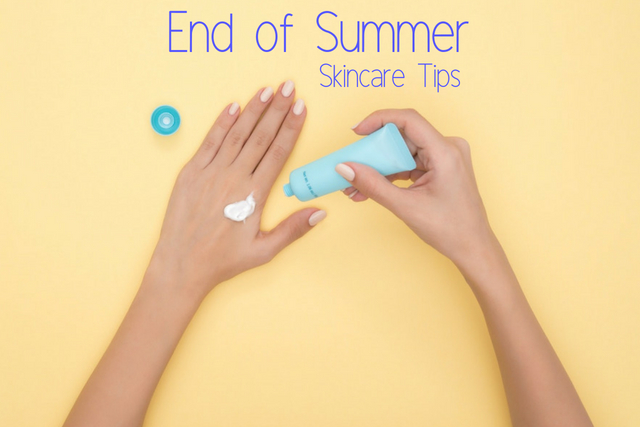 Aimee Raindrop Writes: End of Summer Skincare Tips || Guest Post