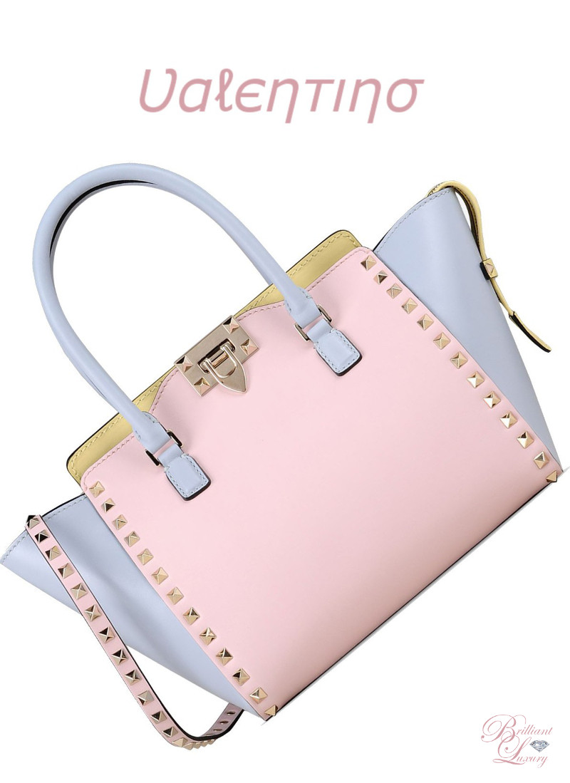 Brilliant Luxury ♦ Valentino Watercolor Rockstud Cross Body Bag