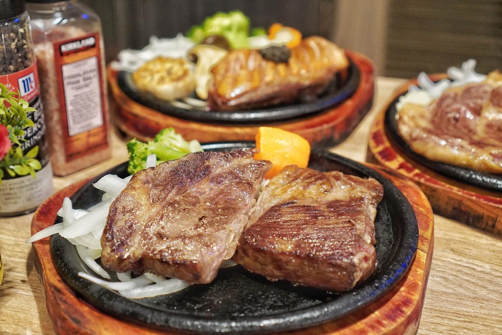台南中西區美食【丹妮牛排】背肩牛排