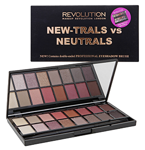 Makeup Revolution (MUR) New-Trails vs Neutrals