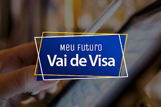 Promoção Meu Futuro Vai de Visa