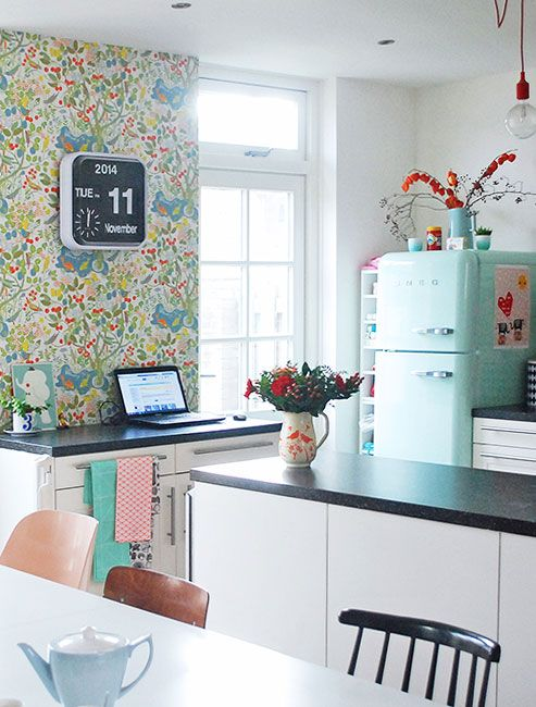 Smeg. The Word U2013 Err, The Brand U2013 Pretty Much Sums Up #HouseGoals For Me.  Show Me A Kitchen With One Of Those Curvy, Delightfully Colored,  Retro Inspired ...