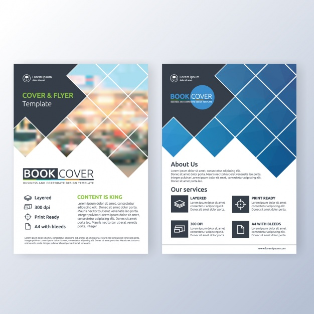 Business Brochure Template Free Vector Vectorkh