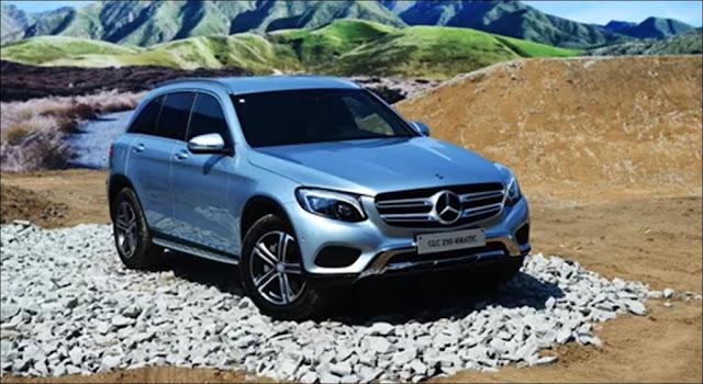Mẫu SUV hạng sang mới với hai phiên bản Mercedes GLC 300 4MATIC và Mercedes GLC 250 4MATIC