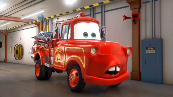 Cars Toons Rescue Squad Mater