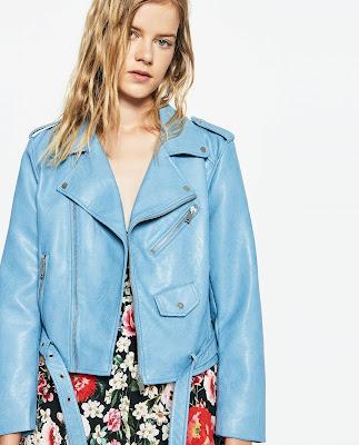 Perfecto bleu Zara