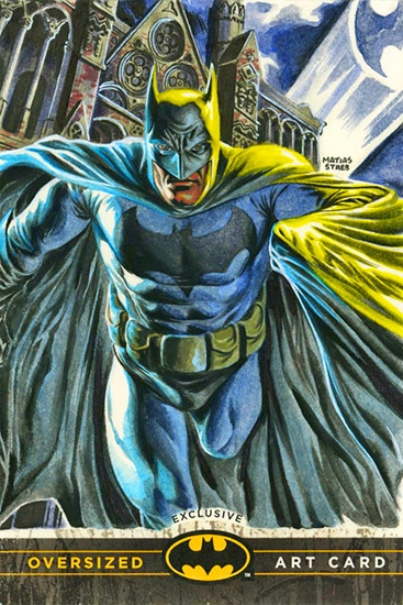 Matias Streb Oversized Art Batman card