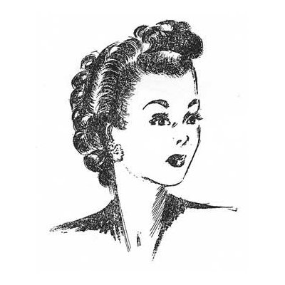 create 1940s hairstyles