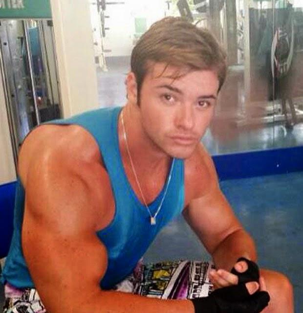 O filho de Eike Batista contou que faz modulação hormonal com DHEA Foto: Instagram/Reprodução