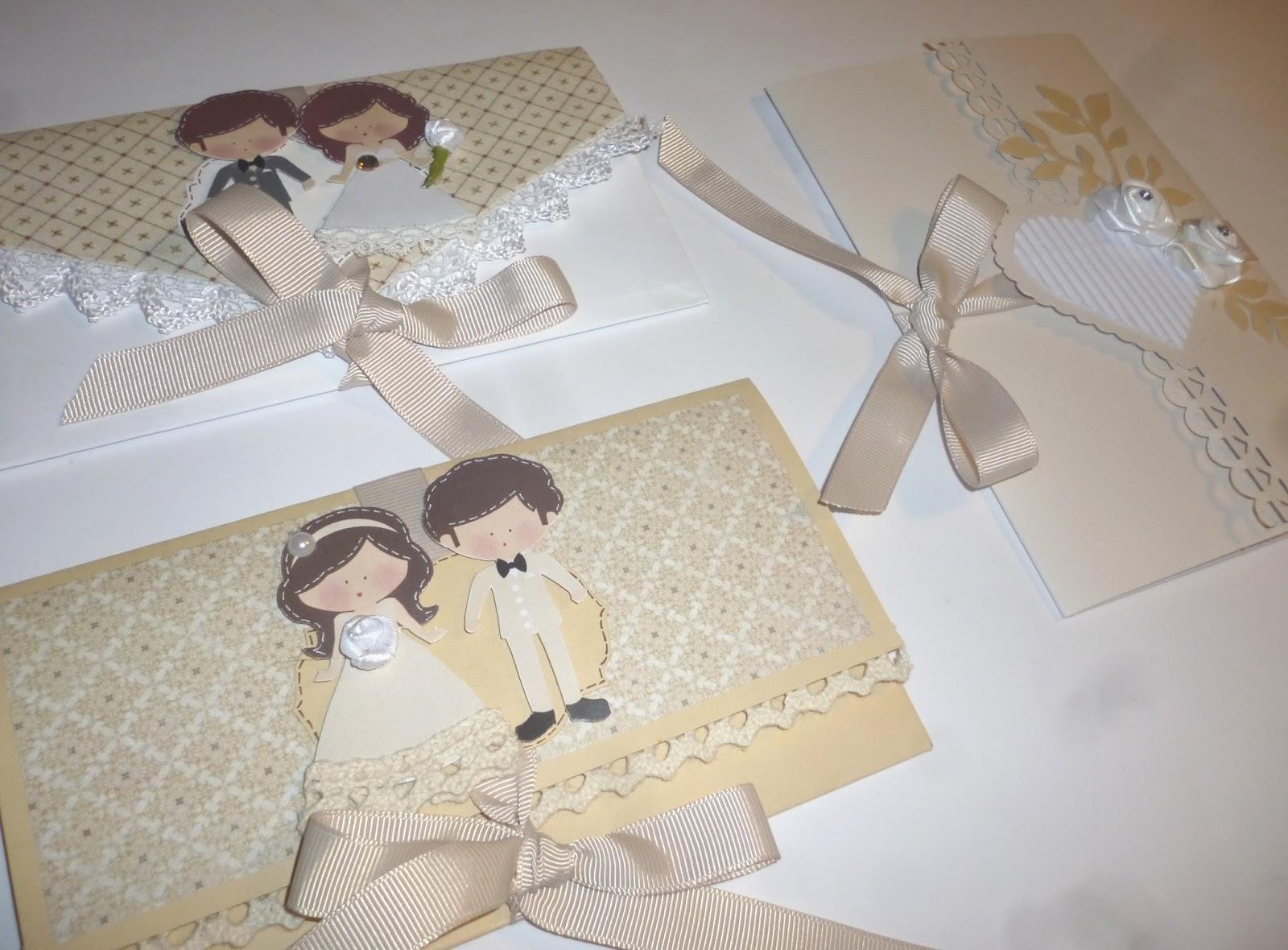 Preferenza cartoncino mio: Tre buste per un matrimonio FW34