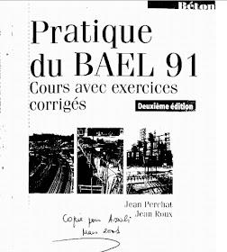 BAEL AVEC EXERCICES PRATIQUE DU CORRIGÉS .PDF COURS TÉLÉCHARGER 91
