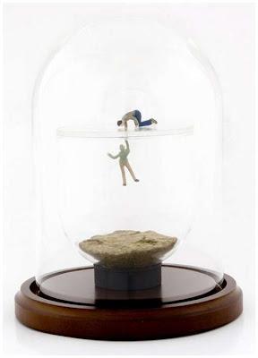 Interesante arte en miniatura.