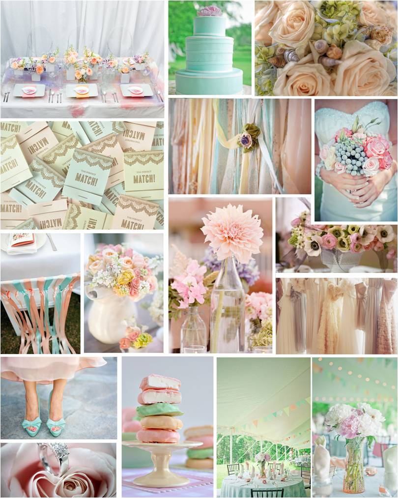 wedding ideas pastel colours the ring color themes for your wedding 28278