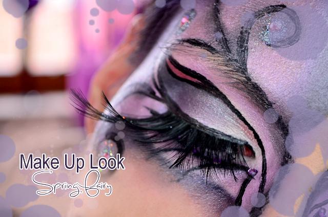 Full Face Make Up Spring Fairy