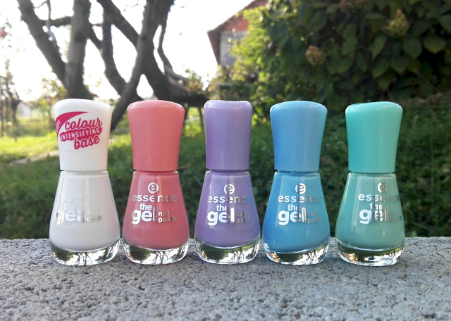 Essence  The Gel Nail Polish (Review and Swatches)