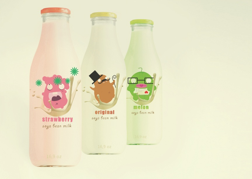 Soymilk On Packaging Of The World Creative Package