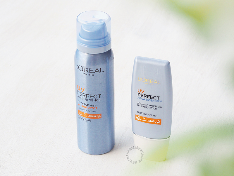 The New L'Oréal UV Perfect Sunscreen / Sunblock Review